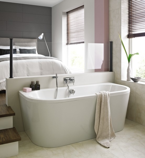 Small Back To Wall Bath Part - 30: Trend Back To Wall Bath -http://www.bathstore.com/
