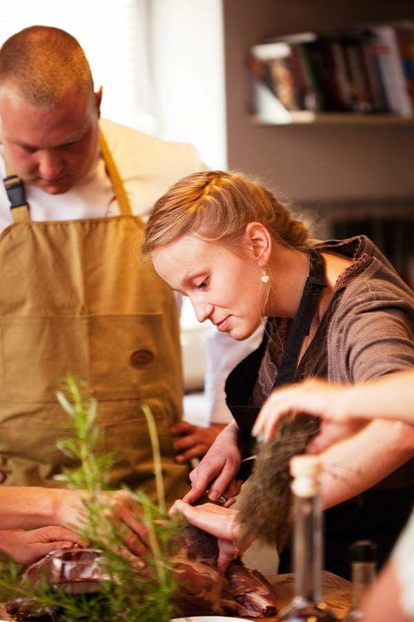 Myśliwska uczta - dziczyzna - warsztaty kulinarne