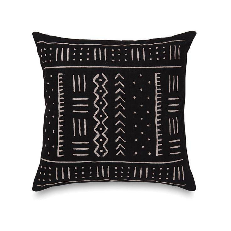 Mudcloth Cushion Cover   Citta Design $59.90