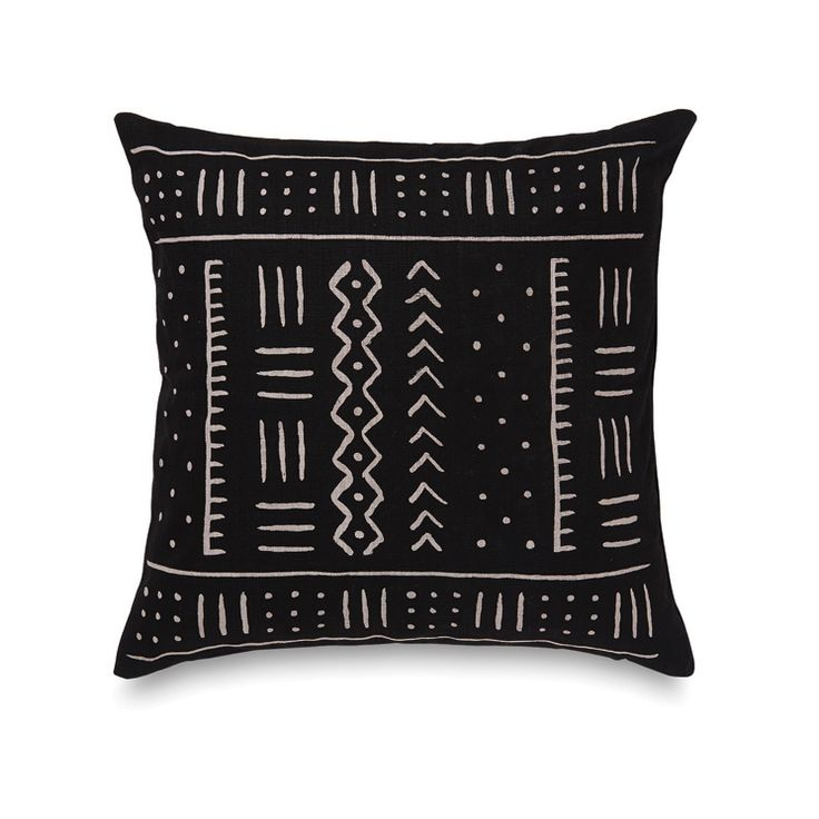 Mudcloth Cushion Cover   Citta Design