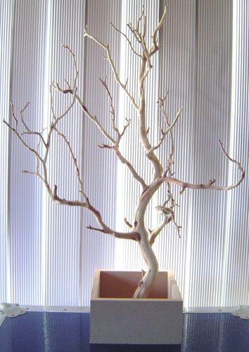 1000 ideas about manzanita centerpiece on pinterest - Ramas decoradas ...