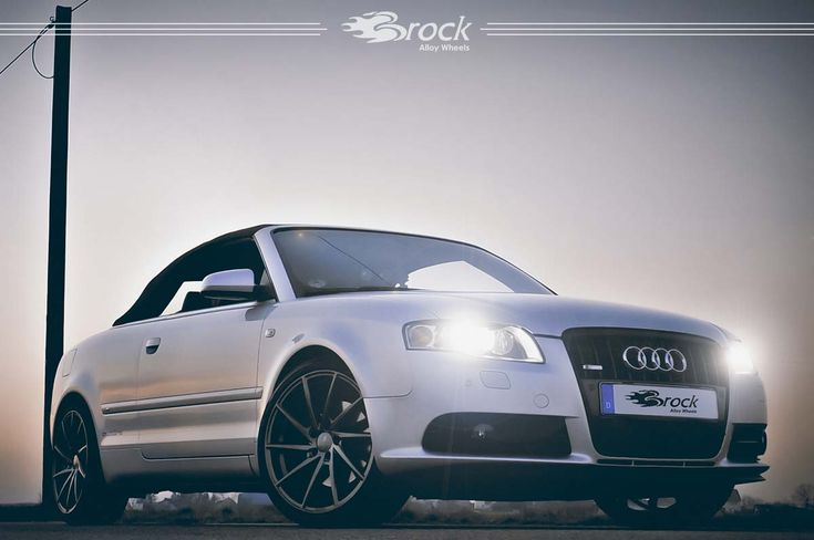 #Audi #A4 #Quattro #Cabriolet #Brock #B37 #DS #Wheels #Alufelge #Leichtmetallrad #Brockwheels #Alloywheels #Tuning #Audilove #AudiA4