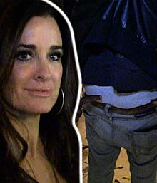 """Kyle Richards -- I Bitched Out ... When Lisa Rinna Attacked My Sister 
