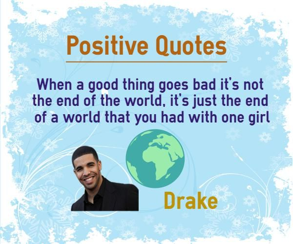 End Of Watch Quotes: 1000+ Quotes By Drake On Pinterest