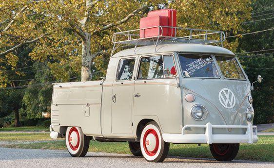 1962 Volkswagen Double Cab Pickup Truck