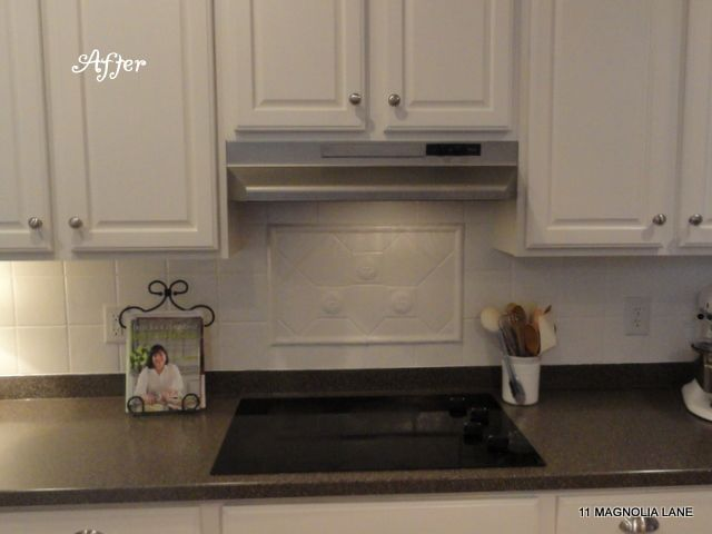 Stainless Steel Paint for range hood until we can get a nice, sleek one.