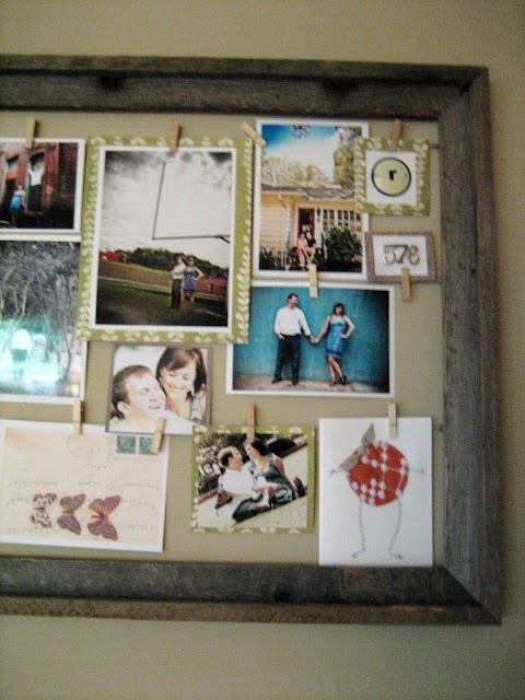 Wire + Clothespin Picture Frame