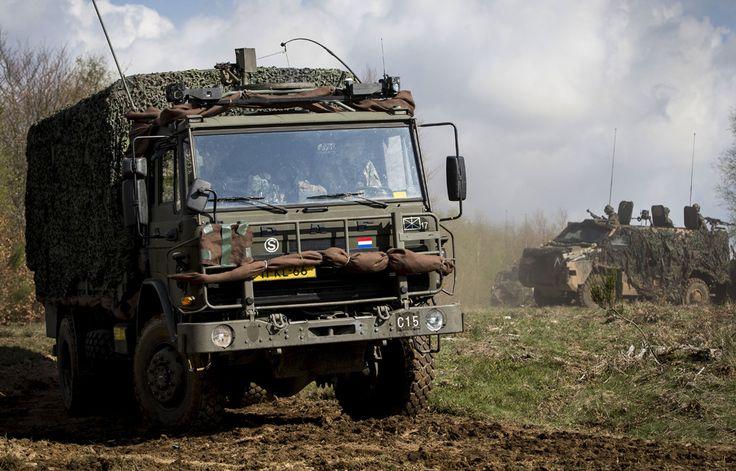 Defensie Vervangt Werkpaarden