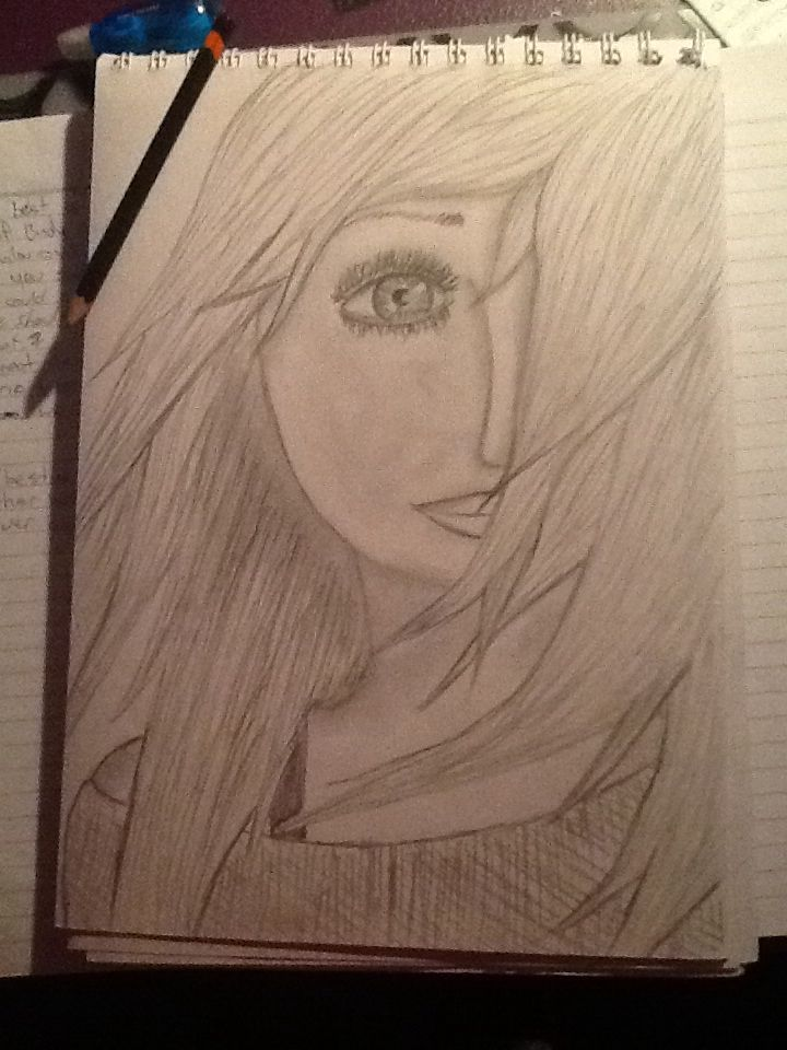 Drawing of a girl, my version
