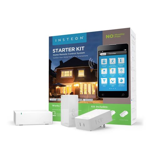 Insteon Starter Kit 1 Hub and 2 Dimmer Plugs Works with Amazon Alexa - Insteon Starter Kit includes two Dimmer Modules and the Insteon Hub - everything you need to control two plug-in lamps from your smartphone or using your voice with Amazon Echo. Setup is quick and easy.