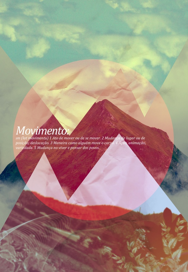 Movimento by Henrique Malvão - These geometric designs are really popular right now.