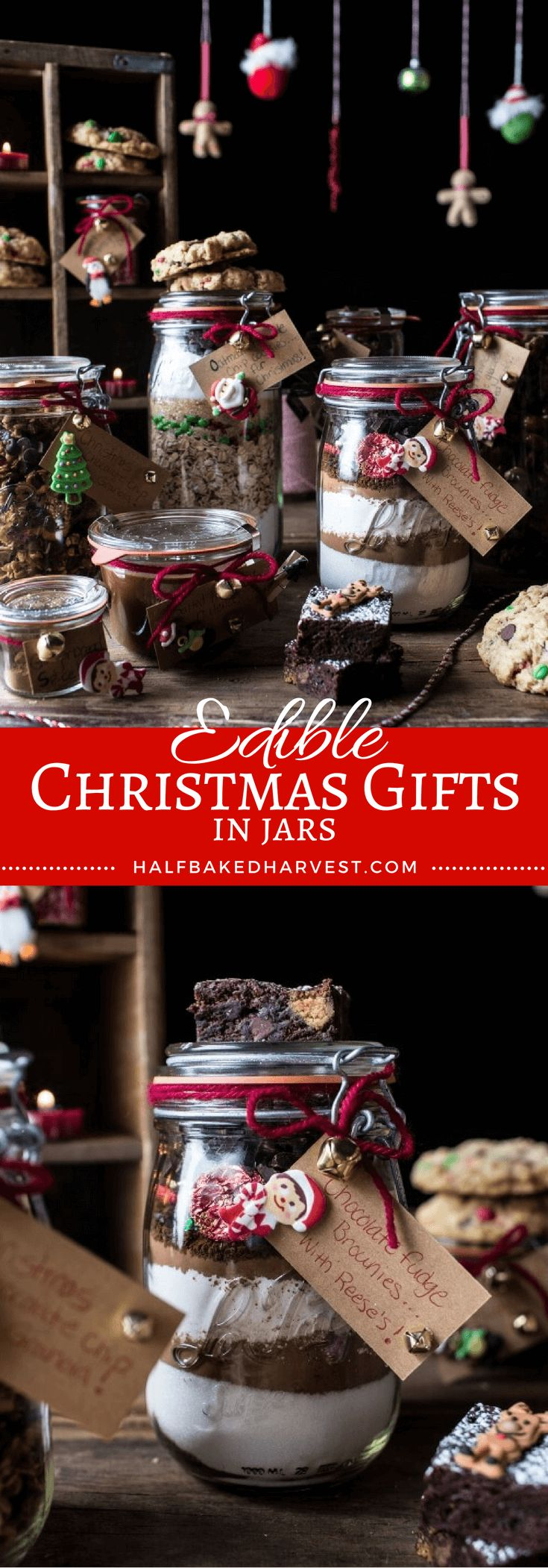 The perfect edible Christmas Gifts in Jars | halfbakedharvest.com @hbharvest