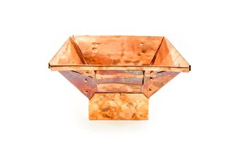 Buy #Indian Classic Traditional #Copper #Havan Kund 12 X 12 IN (1)  from a range of #HavanKunds and more #Homeware, #Kitchenware and #Cookware products at Popat Stores.