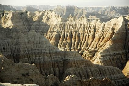 Hiking the Badlands...I've done this AND found a few dinosaur fossils.
