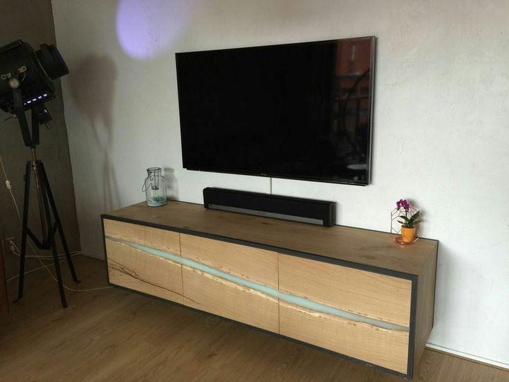 Tv furniture - epoxy