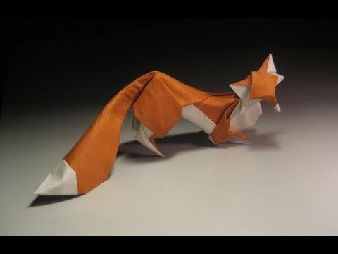 Most Beautiful Origami Fox Design I Have Ever Seen