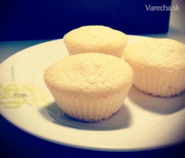 Kokosovo citrónové muffiny