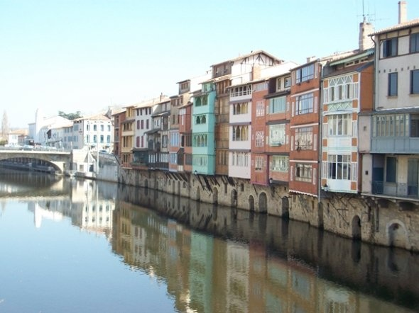Castres and the River Agout