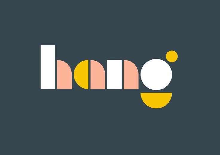 Hang Branding by Katie Barrett & Studio Blackburn http://mindsparklemag.com/design/hang-branding/