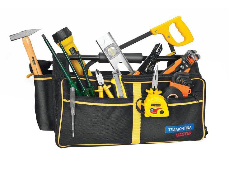 Bolsa de ferramentas para eletricista tramontina. Aproveite ofertas!