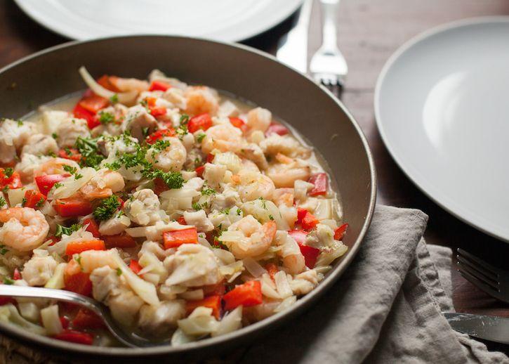 Paleo eten: vispotje met venkel en rode paprika | Leef Nu Gezonder