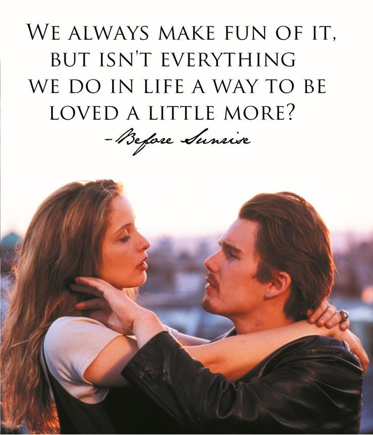 Before Sunrise Quotes                                                                                                                                                                                 More