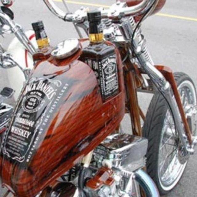 Jack Daniels Bike!! Now that's AMERICAN!