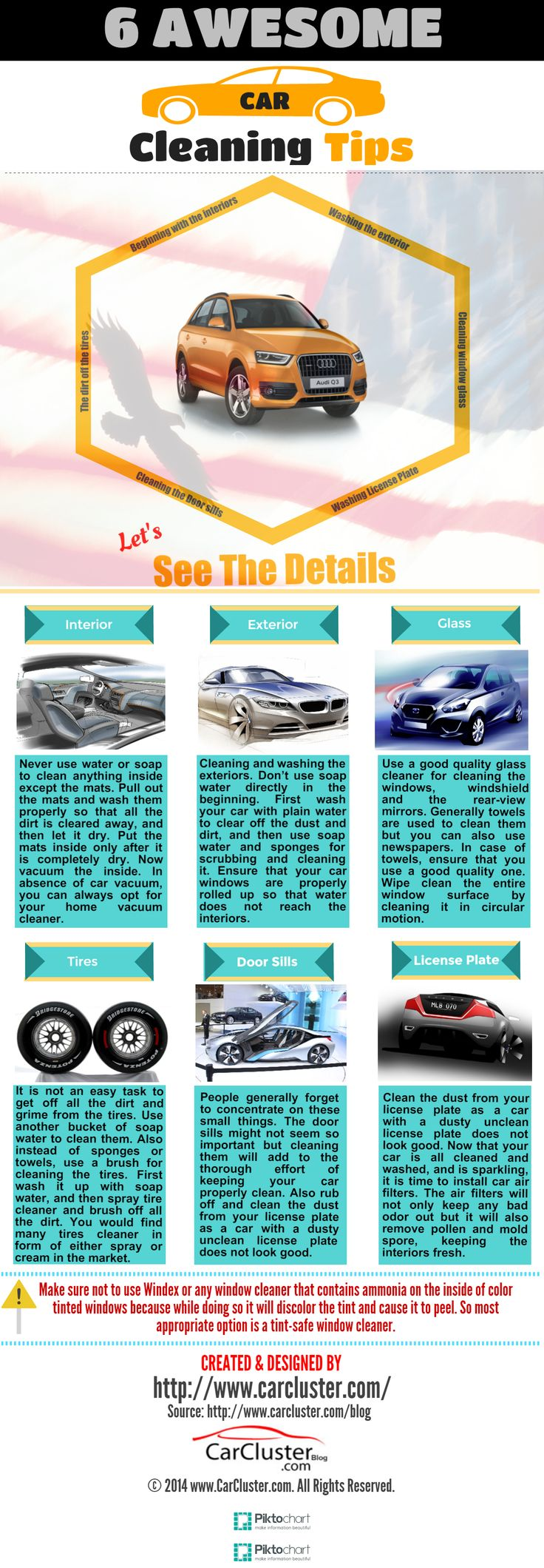 Car cleaning tips infographic summer road are more interesting and exciting then it generally