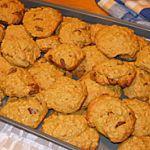 Recette Biscuits à la citrouille, pépites de chocolat et avoine