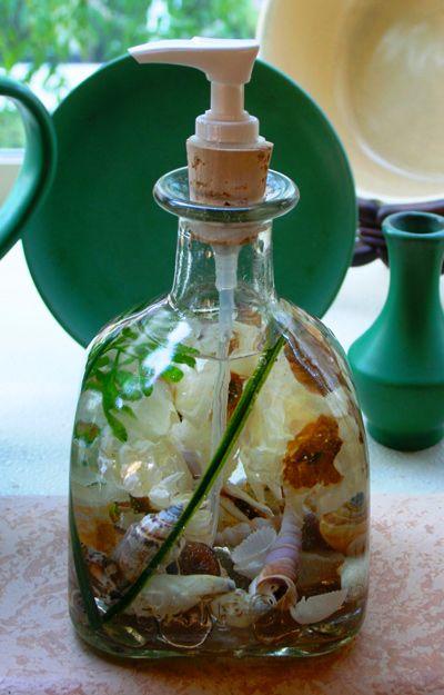Patron Bottle Soap Dispenser - Quiet Ivory.  Unique gift idea!  http://seasidesouvenirs.com/soap-dispensers.php#