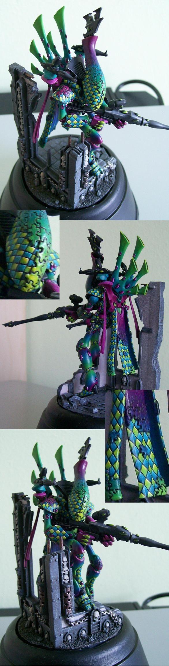 Eldar Harlequin Wraithlord.