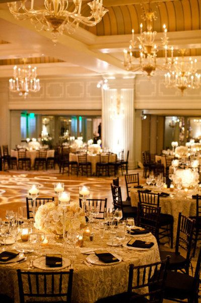 {Ballroom}: The Mars, Tables Sets, Low Centerpieces,  Eateri, Tables Centerpieces, Black Chairs, My Wedding, Receptions Design, Center Pieces