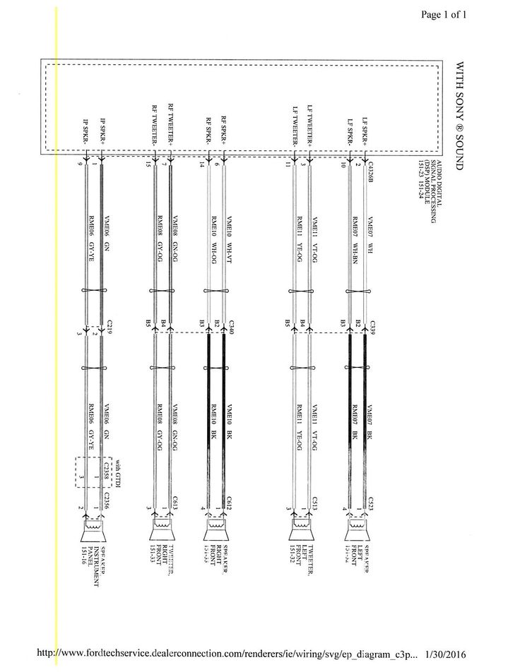 New Wiring Diagram ford Falcon Au Radio