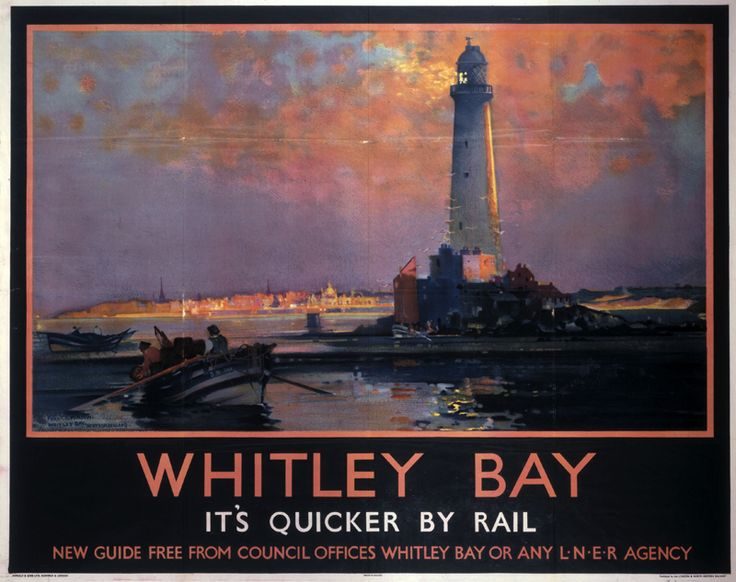 Whitley Bay, by Frank Henry Mason