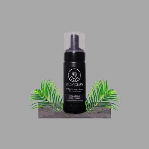 Volcanic Man - Cleanser & Shave Foam