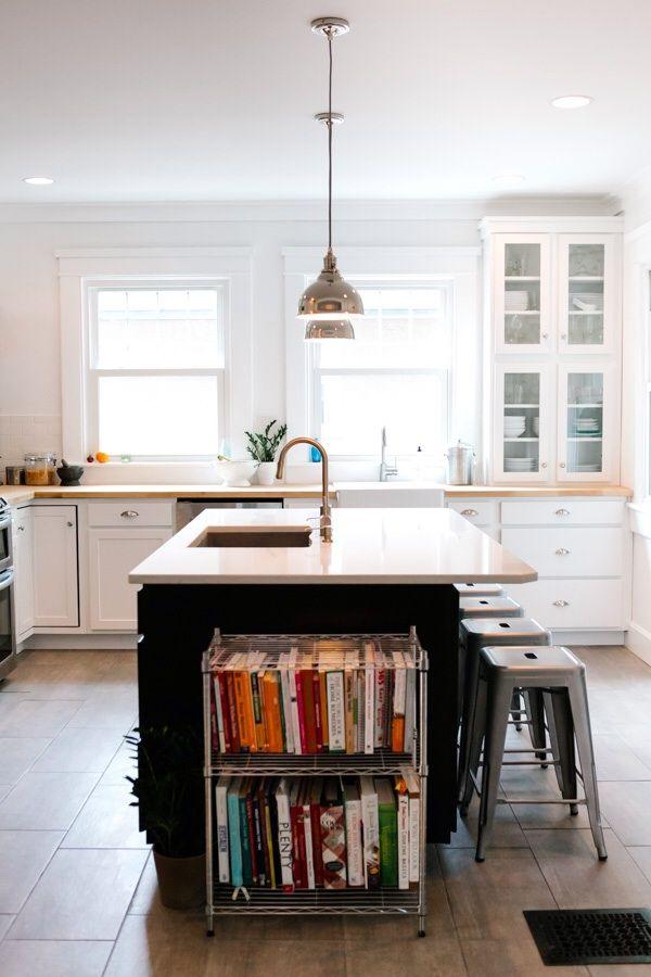46 Best Cookbook Bookshelves Images On Pinterest