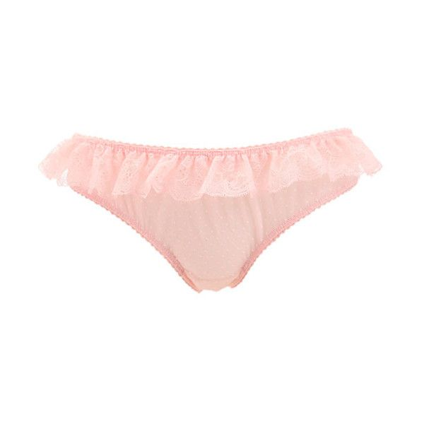 ♥ little bird ♥, frillylacylove: ♡ sally jones french rose... ❤ liked on Polyvore featuring intimates, lingerie, bottoms, pink, underwear, bralette lingerie and pink lingerie