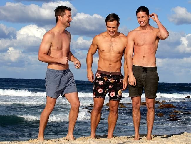 Matt Wilson says he has become firm friends with fellow Neighbours stars Scott McGregor and Travis Burns. Picture: Jonathan Ng Source: News Corp Australia