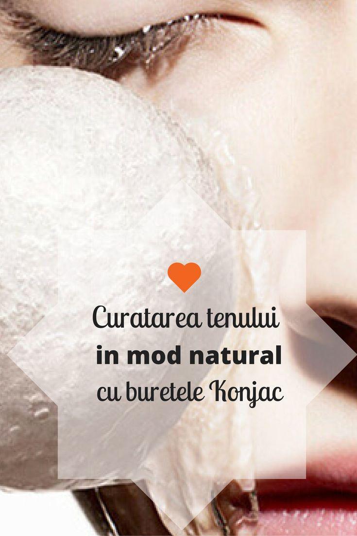 Curatarea tenului in mod natural cu buretele #Konjac. #Frumusete #CosmeticeNaturale #CosmeticeBio