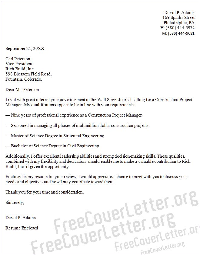 Best 25 Project manager cover letter ideas on Pinterest  Project manager resume Cover letter