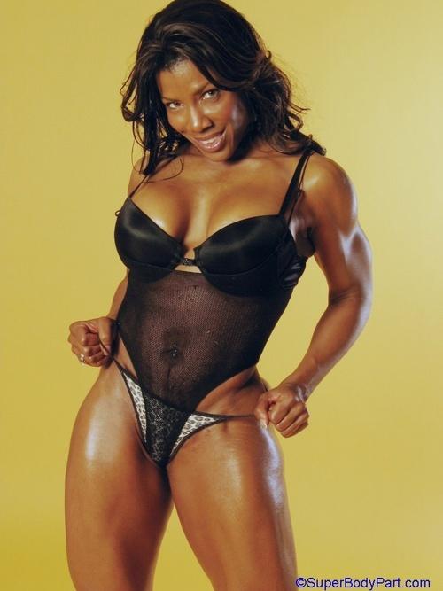 Bodybuilder Ebony 97
