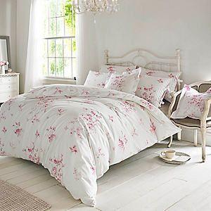 Holly Willoughby Olivia Raspberry Duvet Cover & Pillowcases #kaleidoscope #bedroom