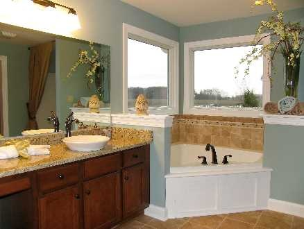 Inspiration Web Design Love the type of sink in this Master Bath schumacherhomes Visit a Design Studio