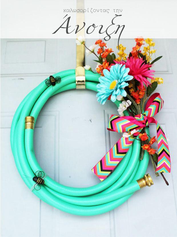 Spring wreaths Ανοιξιάτικα στεφάνια