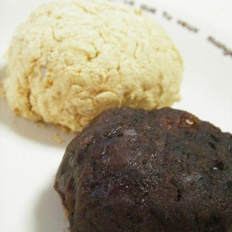 お彼岸には、ぼた餅(おはぎ)を食べる習慣があります。もち米がなくても、もちもちに仕上がるレシピを紹介