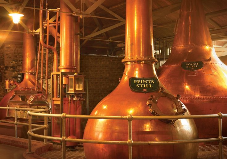 The Old Jameson Distillery is the original site where Jameson Irish Whiskey was distilled from 1780 until 1971.
