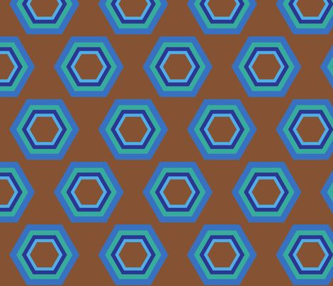 retro fabric by mofje on Spoonflower - custom fabric