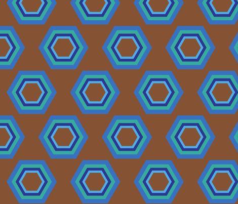 retro fabric by mofje on Spoonflower - custom fabric