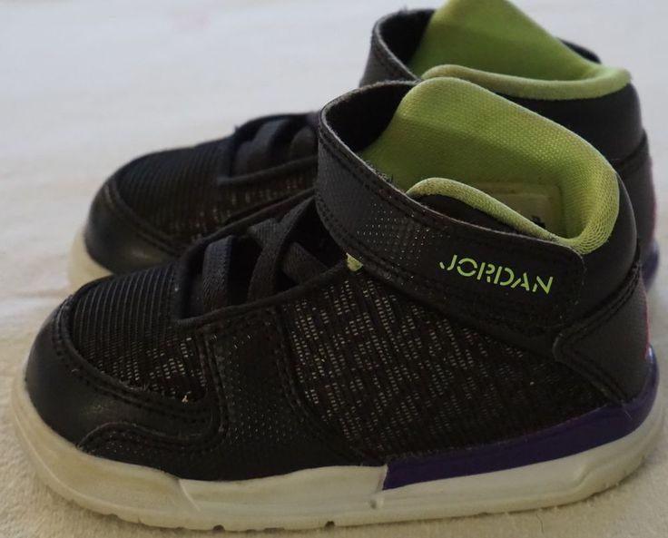 NIKE JORDAN FLIGHT CLUB BASKETBALL 602663 017 High Top Sneaker Shoes 5 C Used  #Nike #Athletic