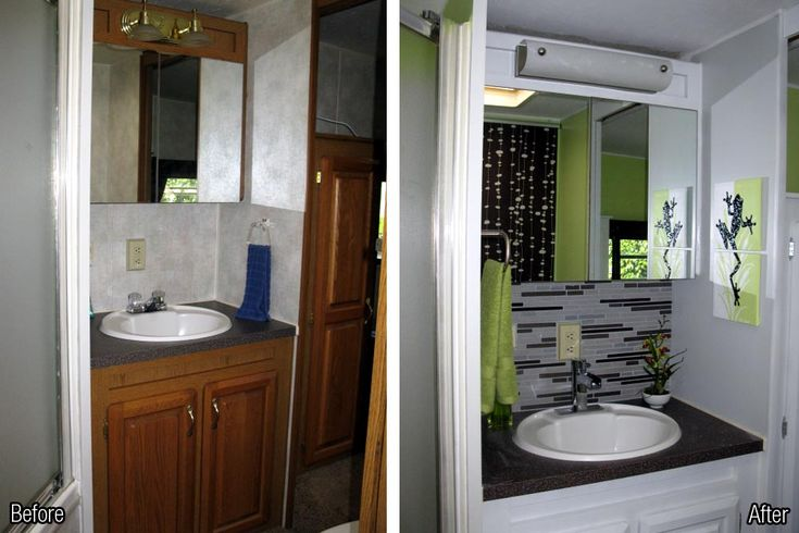 RV Makeover Before After | Paint and RV Decorating Can Turn the Ordinary to Unique